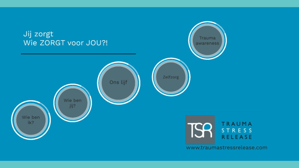 workshop voor zorgprofessionals met direct toepasbare tips om staande te blijven in de zorg #compassiemoeheid #secondvictims #PTSS #burnout #secondarytrauma #hulpverlenerinnood